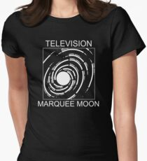 Television Marquee Moon Fitted T-Shirt