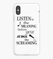 Listen To The Meaning Before You Judge The Screaming iPhone Case