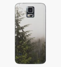 Foggy Pine Forest Nature Fine Art Photography 0050 Case/Skin for Samsung Galaxy