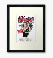 Faster, Pussycat! Kill! Kill! Vintage Movie Poster Framed Print