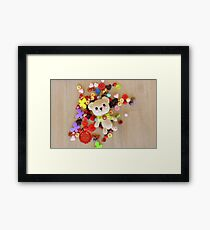 TEDDY BABY Framed Print