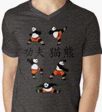 Kung-Fu Panda (Colour) Men's V-Neck T-Shirt