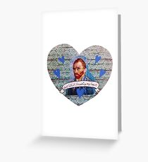 Van Gogh Valentine (Version 1) Greeting Card