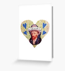 Van Gogh Valentine (Version 2) Greeting Card