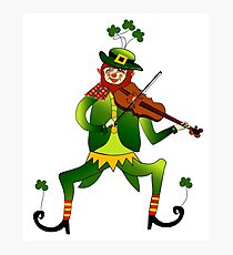 Lucky Leprechaun Photographic Print