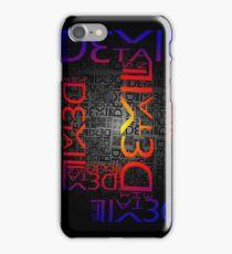Devil in the Details iPhone Case/Skin