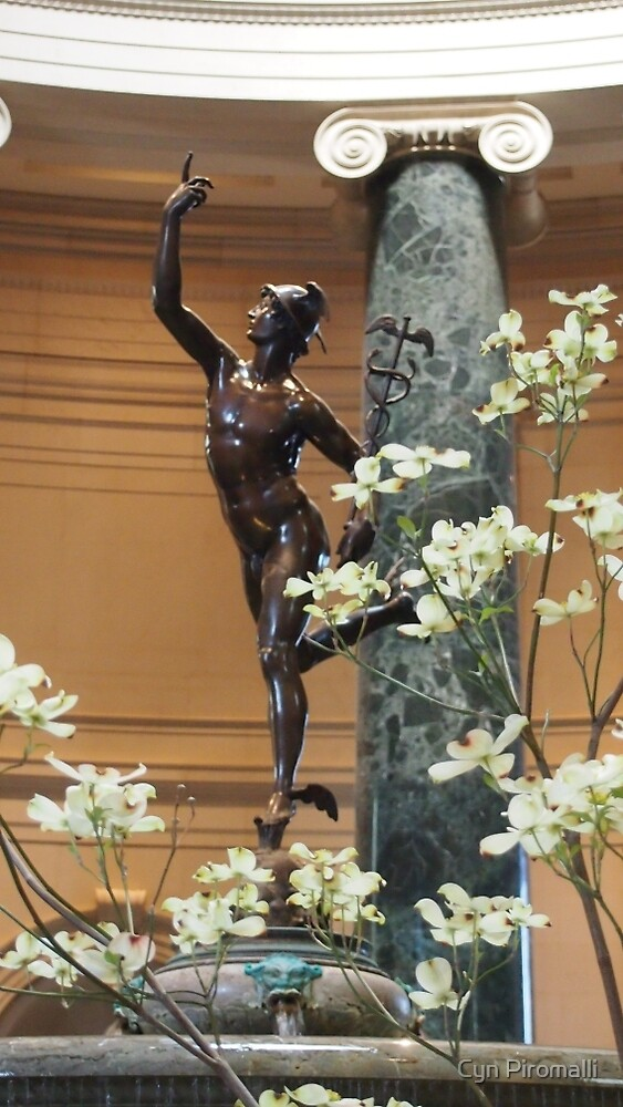 Gallery Statue by Cyn Piromalli