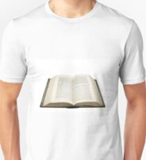Open bible with the original Hebrew text  T-Shirt