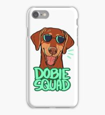DOBIE SQUAD (red) iPhone Case/Skin