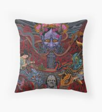 Irezumi Island Throw Pillow