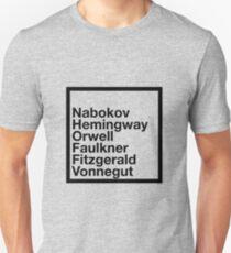 Famous Authors T-Shirt