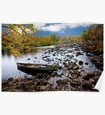 Oxtongue River Scenic - Ontario, Canada Poster