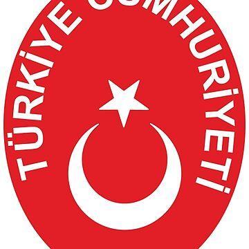 National emblem of Turkey by artpolitic