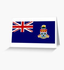 National flag of the Cayman Islands Greeting Card