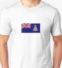 Nationalflagge der Cayman Islands Slim Fit T-Shirt