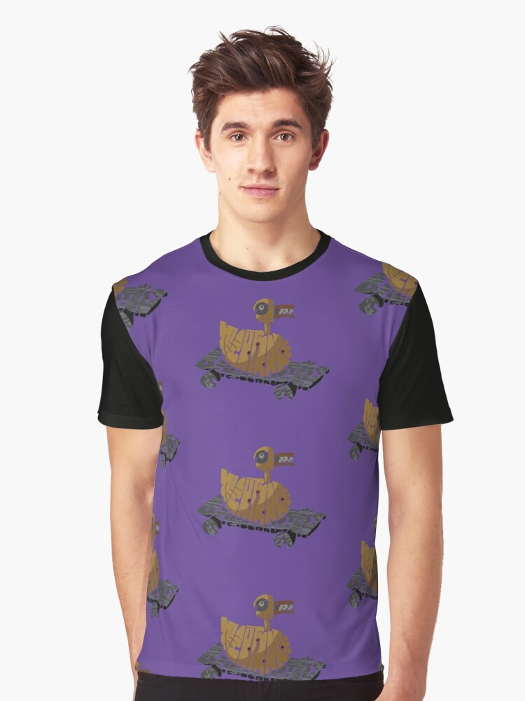 Nightmare before Christmas - duck Graphic T-Shirt Front