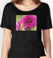 Dahlia Macro Women's Relaxed Fit T-Shirt