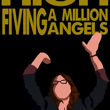 Liz Lemon - High fiving a million angels by MichielvB