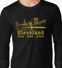 Heritage Park reflecting in the Cuyahoga river. T-Shirt