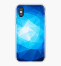 abstract crystal design iPhone Case