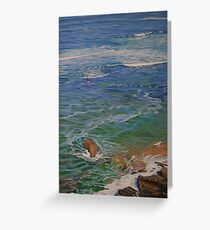 Perfect Day II - Bar Beach, Australia Greeting Card