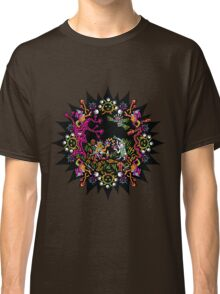 Aztec meeting psychedelic T-shirt Classic T-Shirt