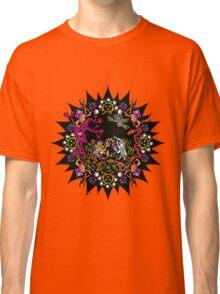 Aztec meeting psychedelic T-shirt Classic T-Shirt