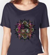 Aztec meeting psychedelic T-shirt Women's Relaxed Fit T-Shirt