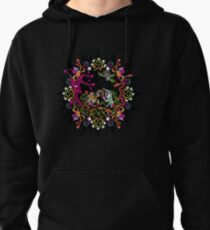 Aztec meeting psychedelic T-shirt Pullover Hoodie