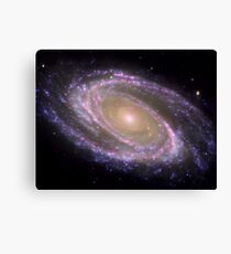 Spiral galaxy Messier 81. Canvas Print