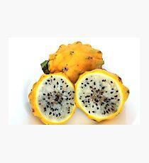 Yellow Pitahaya Fruit Photographic Print