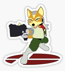 Fox - Super Smash Bros Melee Sticker