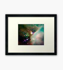Newborn stars Framed Print