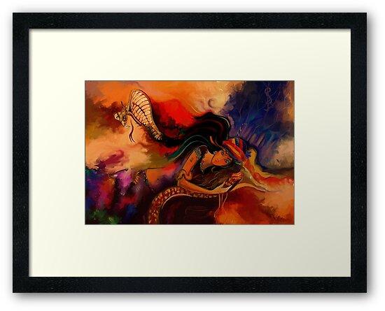 The Charmer  by artsmitten