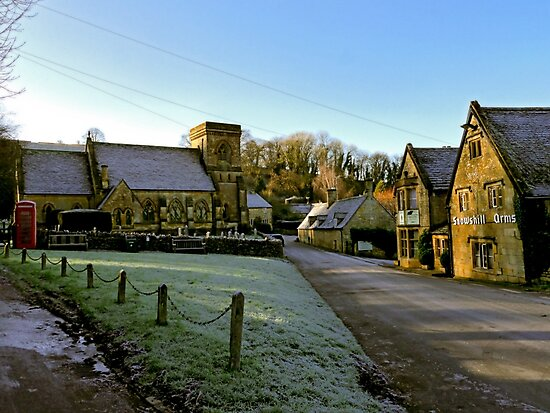 Frosty Snowshill by ScenicViewPics