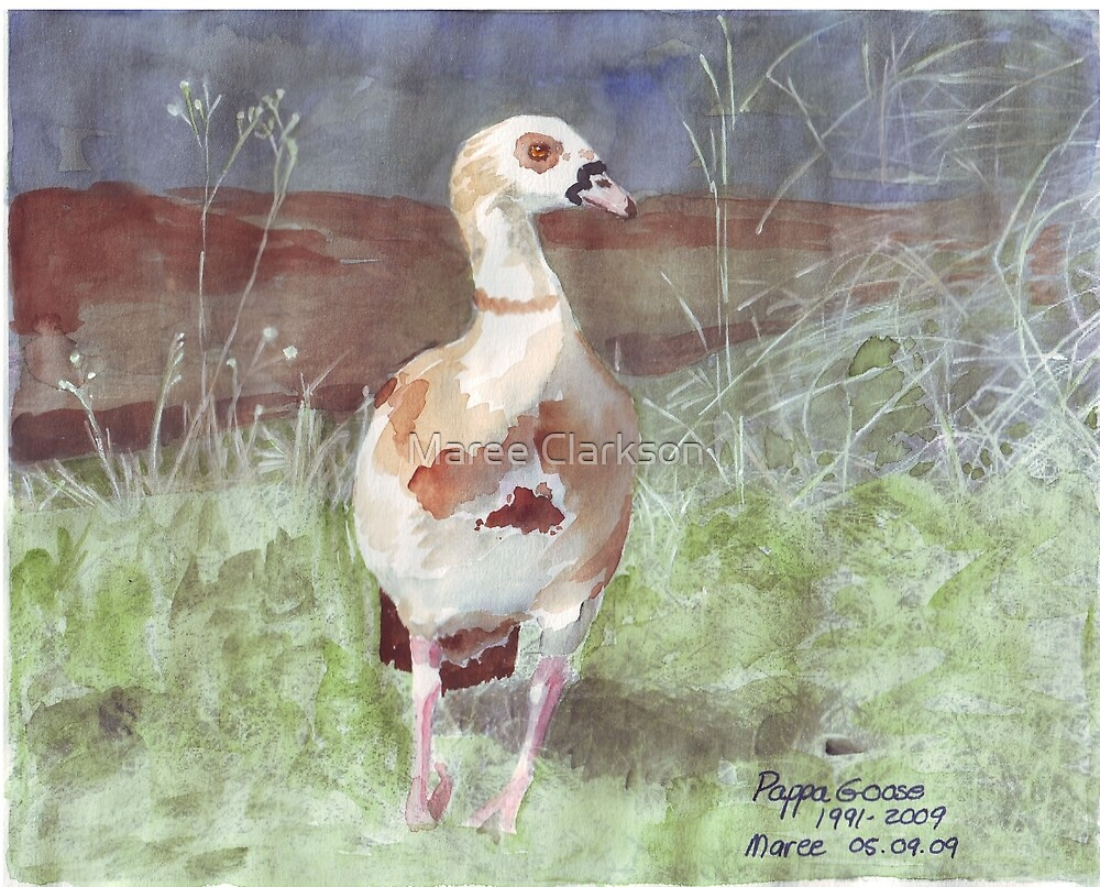 Papa Goose  by Maree Clarkson