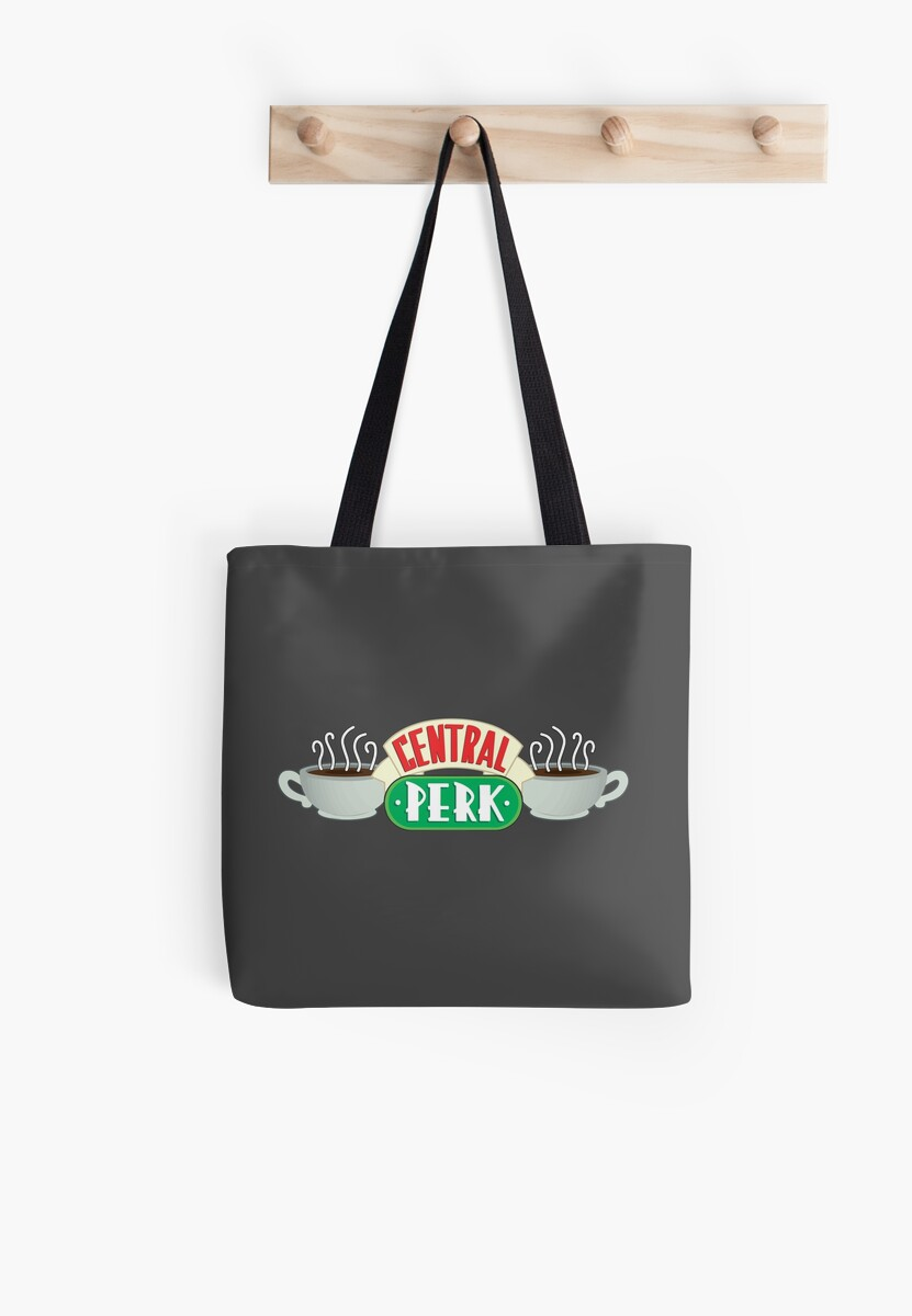 """Hervorragend Central Perk Logo from Friends"""" Tote Bags by DominikNasshan  HC49"""