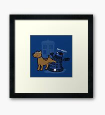 Doctor Wuff Framed Print