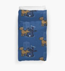Doctor Wuff Duvet Cover