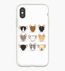 Ratty Faces iPhone Case