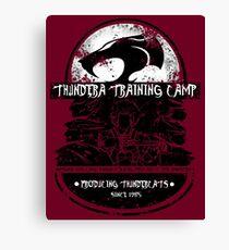 Thundera Training Camp Canvas Print