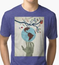 Global Issue 02 Tri-blend T-Shirt