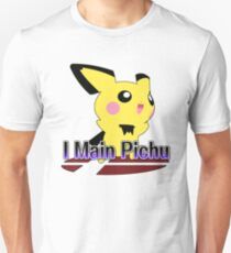 I Main Pichu - Super Smash Bros Melee T-Shirt