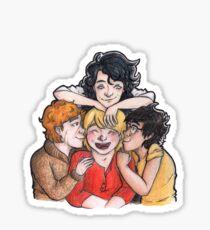 A Peter Pettigrew Sandwich Sticker