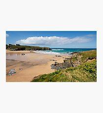 Treyarnon Bay,North Cornwall Photographic Print