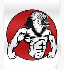 Iron Lion Poster
