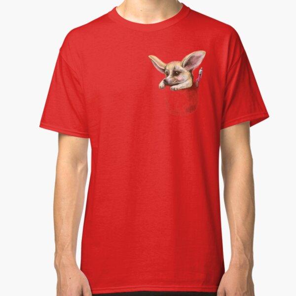 Pocket fennec fox Classic T-Shirt