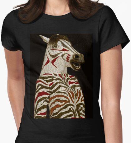 Miss Zebra Dressed In Her Best!  T-Shirt