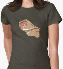 Sleepy Taco Man Womens Fitted T-Shirt