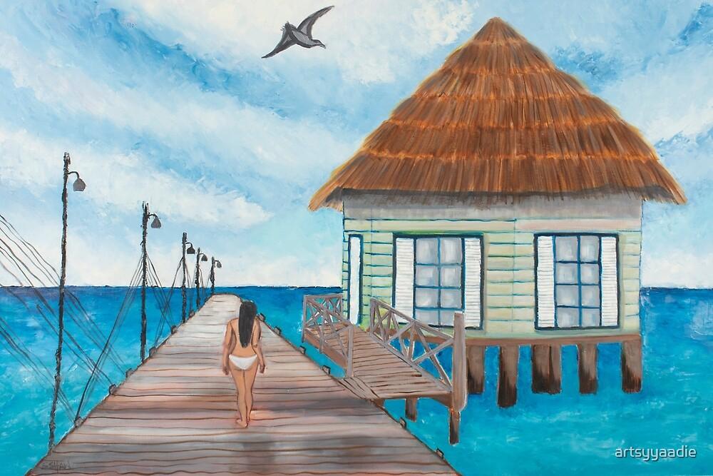 Boardwalk by artsyyaadie